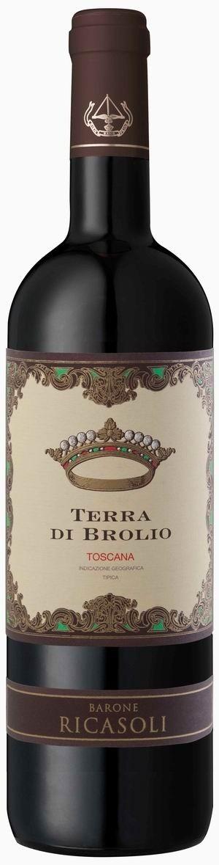 Barone Ricasoli Terra di Brolio Rosso Toscana 2012 IGT