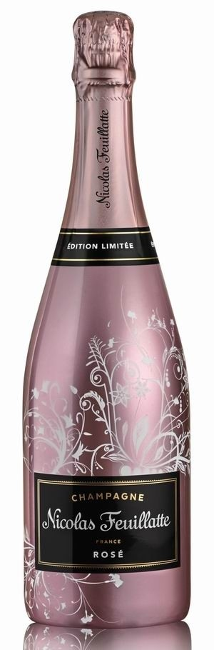 Champagner Nicolas Feuillatte Brut Rosé Sonderflasche Sleeve Nature Ferriq