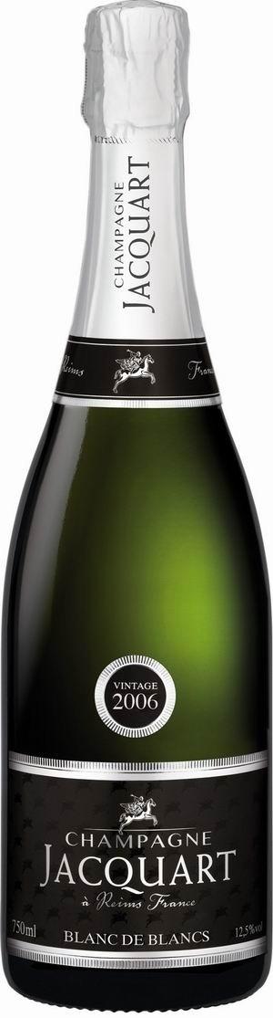 Champagner Jacquart Blanc de Blanc in Geschenkpackung