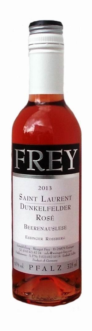 Weingut Frey Saint Laurent / Dunkelfelder Rosé Beerenauslese 2013 edelsüß