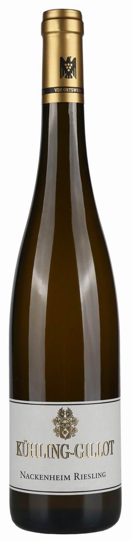 Weingut Kühling-Gillot Nackenheim Riesling 2012 trocken VDP Ortswein Biowein