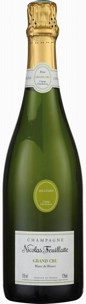 Champagner Nicolas Feuillatte Grand Cru Blanc de Blanc 2006 Millesimée