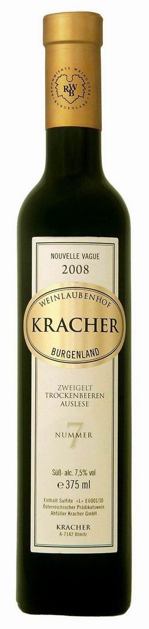 Kracher Trockenbeerenauslese No. 7 Zweigelt 2008 Nouvelle Vague edelsüß