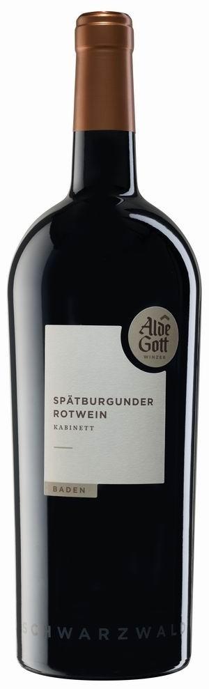 Alde Gott Spätburgunder Rotwein Kabinett 2015 Magnum