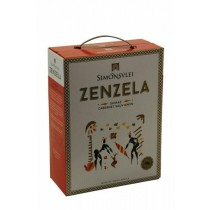 Simonsvlei Zenzela Shiraz - Cabernet Sauvignon trocken - 3 L Bag in Box