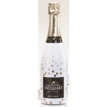 Champagner Jacquart Brut Mosaique in Sonderflasche Bubbly Sleeve