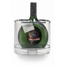 Acryl-Flaschenkühler für Bocksbeutel