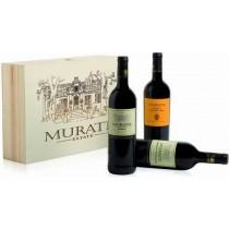 Muratie-Estate Rotwein-Geschenkset