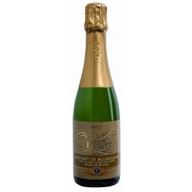 Cave de Lugny Crémant de Bourgogne Brut Blanc de Blancs halbe Flasche