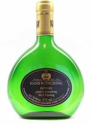 Hans Wirsching Iphöfer Kronsberg Riesling Eiswein 2012 edelsüß