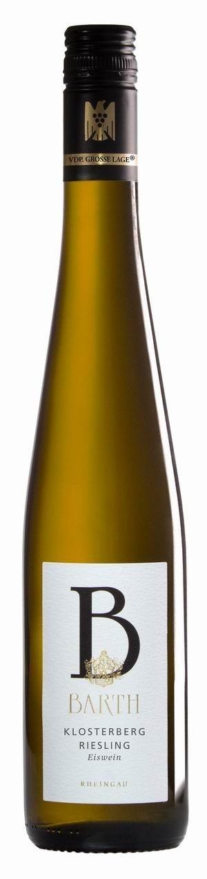 Weingut Barth Riesling Eiswein Oestrich Klosterberg 2015 edelsüß VDP Erste Lage Biowein