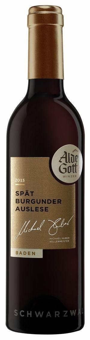 Alde Gott Spätburgunder Rotwein Auslese 2015 edelsüß