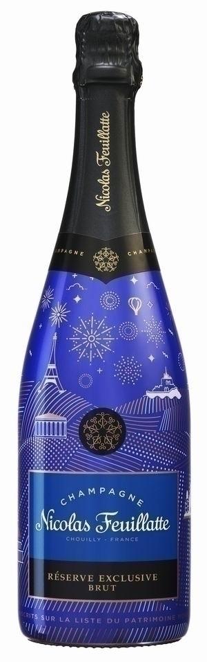 Champagner Nicolas Feuillatte Réserve Exclusive Brut Sleeve Patrimoine