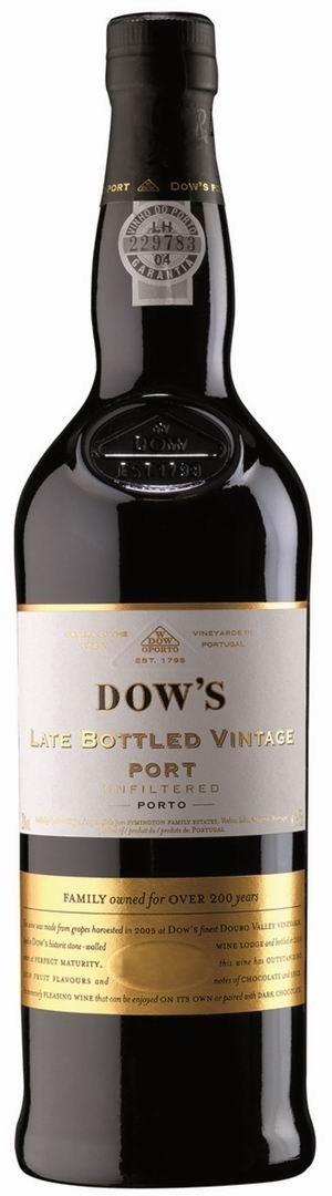 Dows late bottled Vintage Port 2012 Dows Portwein