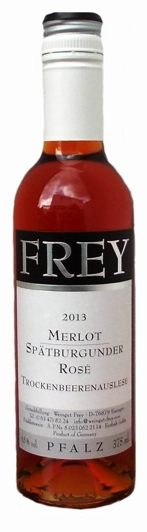 Weingut Frey Merlot / Spätburgunder Rosé Trockenbeerenauslese 2013 edelsüß