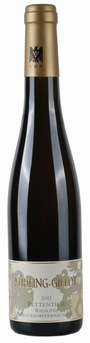 Weingut Kühling-Gillot Pettenthal Riesling Trockenbeerenauslese 2011 edelsüß Biowein