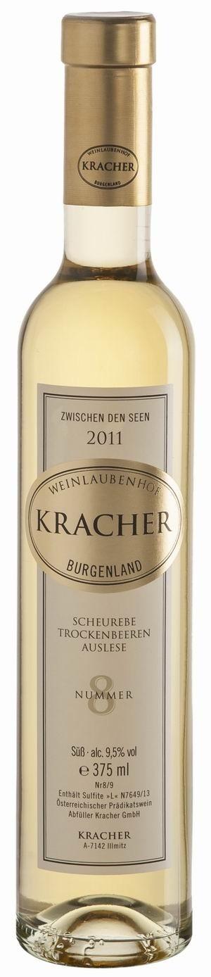 Kracher Trockenbeerenauslese No. 8 Scheurebe 2011 Zwischen den Seen edelsüß