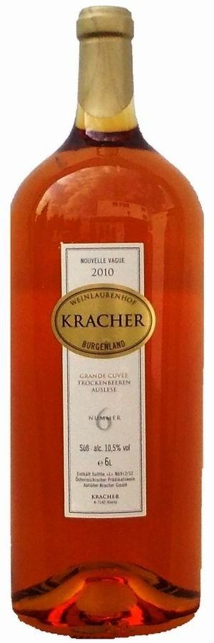 Kracher Trockenbeerenauslese No. 6 Grande Cuvée 2010 Nouvelle Vague 6 L Grossflasche Impérial edelsüß