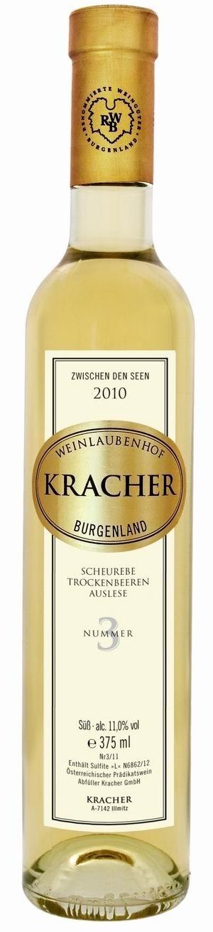 Kracher Trockenbeerenauslese No. 3 Scheurebe 2010 Zwischen den Seen edelsüß
