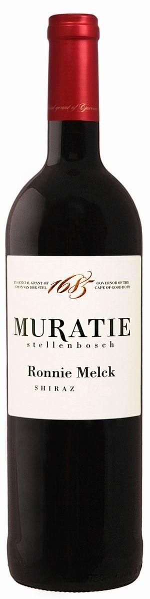 Muratie Wine Estate Ronnie Melck Shiraz 2014 trocken