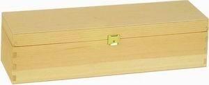 Holzpräsentkassette für 1 Flasche