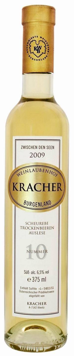 Kracher Trockenbeerenauslese No. 10 Scheurebe 2009 Zwischen den Seen edelsüß