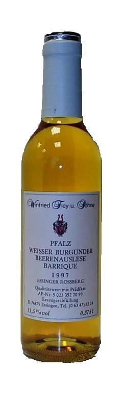 Weingut Frey Weissburgunder Beerenauslese Barrique 1997 edelsüß