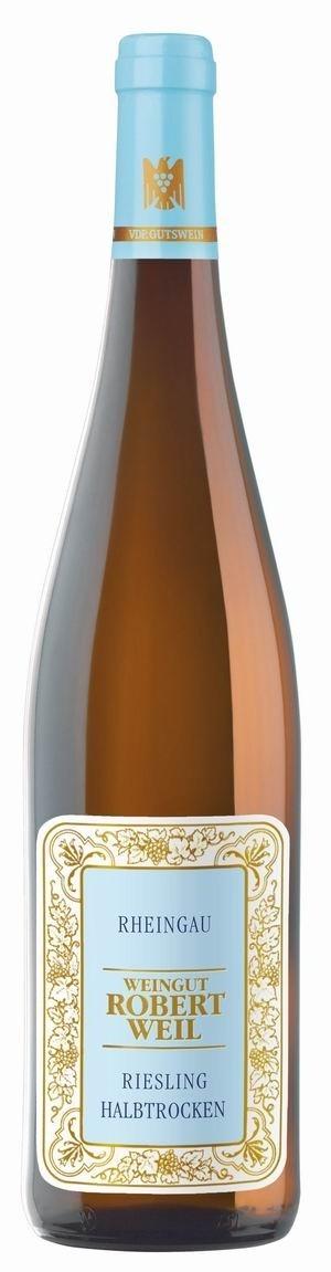 Robert Weil Riesling Qualitätswein 2017 halbtrocken