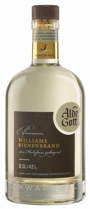 Alde Gott Williams-Birnenbrand Holzfassgelagert