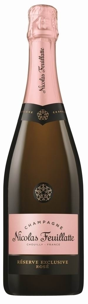 Champagner Nicolas Feuillatte Reserve Exclusive Brut Rosé