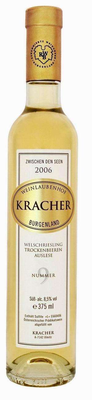 Kracher Trockenbeerenauslese No. 9 Welschriesling 2006 Zwischen den Seen edelsüß