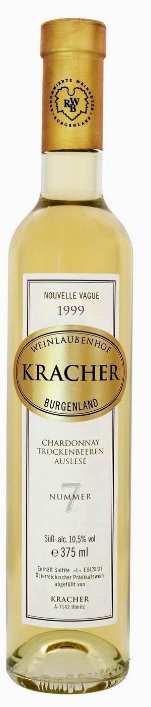 Kracher Trockenbeerenauslese No. 7 Chardonnay 1999 Nouvelle Vague edelsüß