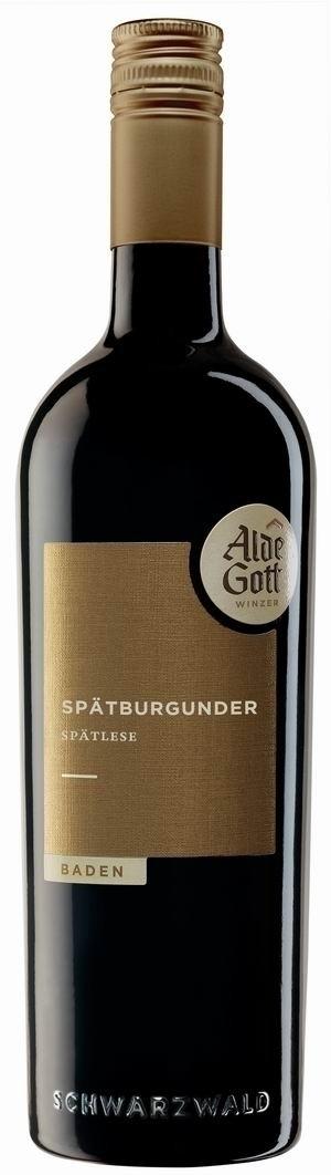 Alde Gott Spätburgunder Rotwein Spätlese 2016 halbtrocken