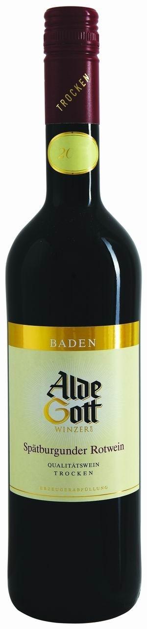 Alde Gott Spätburgunder Rotwein QbA 2011 trocken