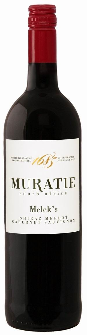 Melck's Blended Red Muratie Estate Cuvée 2015 trocken