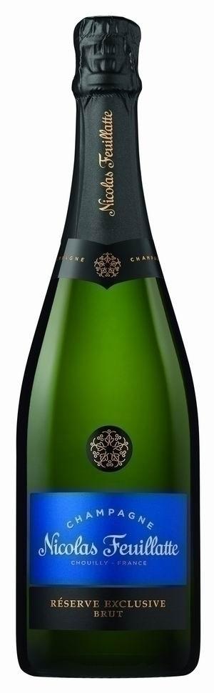 Champagner Nicolas Feuillatte Reserve Exclusive Brut