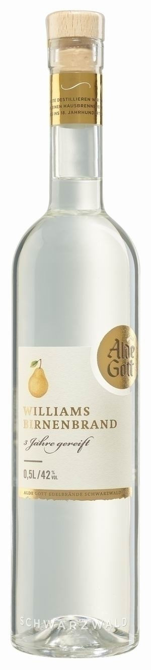 Alde Gott Williams-Birnen-Brand Ausblick