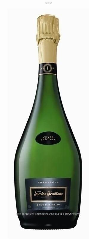 Champagner Nicolas Feuillatte Cuvée Speciale Brut Millesime 2014