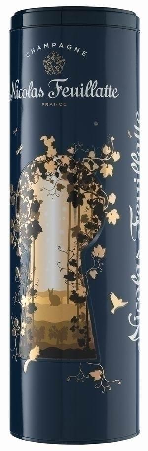 Champagner Nicolas Feuillatte Geschenkdose Enchanting Life für Brut Reserve