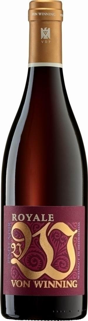 Weingut von Winning Pinot Noir Royale 2016 trocken VDP Gutswein