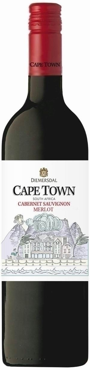 Diemersdal Cape Town Cabernet-Merlot 2019 trocken