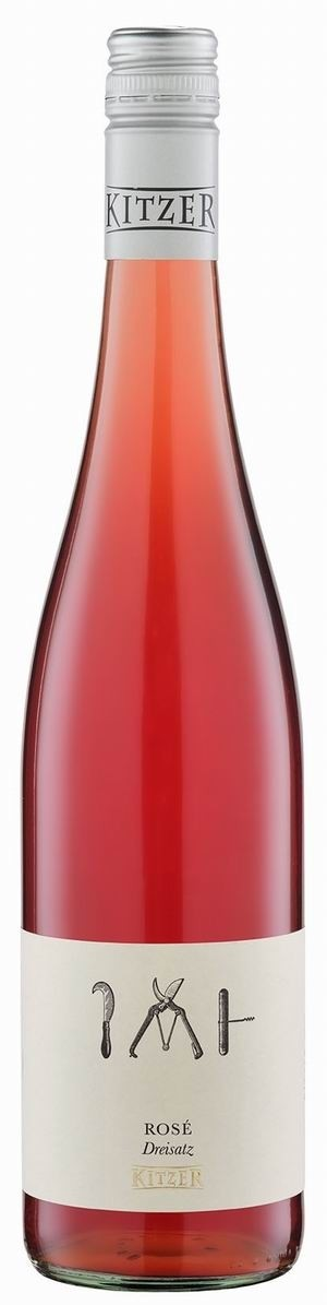 Weingut Kitzer Dreisatz Rosé 2020 trocken