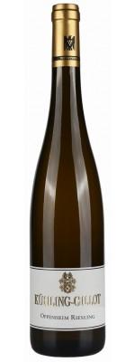Weingut Kühling-Gillot Oppenheim Riesling 2013 trocken VDP Ortswein Biowein
