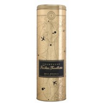 Champagner Nicolas Feuillatte Geschenkdose Kompass Gold für Brut Reserve