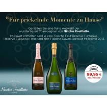 Champagner Nicolas Feuillatte Aktions Paket