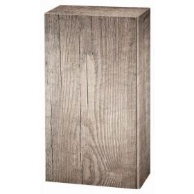 Geschenkkarton Holzoptik Wood für 2 Flaschen