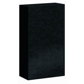 Geschenkkarton Pure schwarz für 2 Flaschen